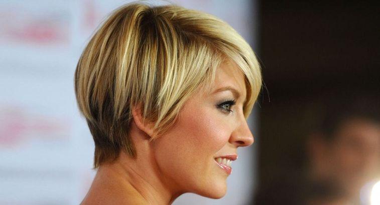 Блонд на короткие волосы