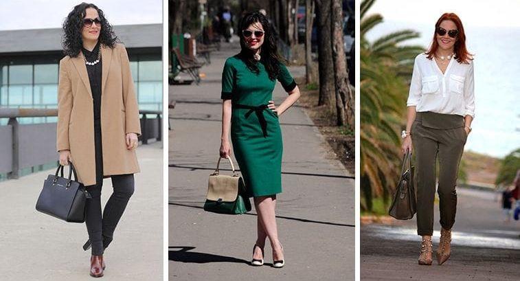 Длина юбки для женщин за 50