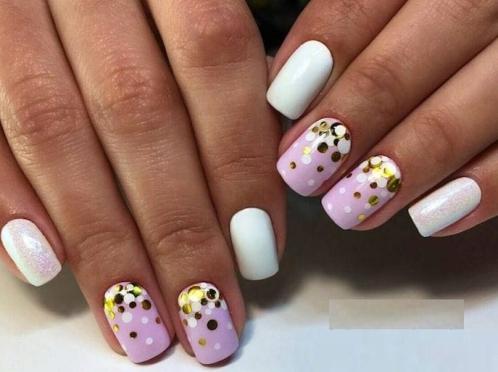 Дизайн ногтей комифубиками фото