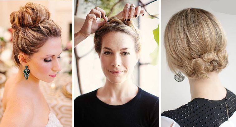 Прически для пожилых женщин на длинные волосы