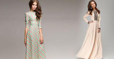 Прямое платье в 40 лет