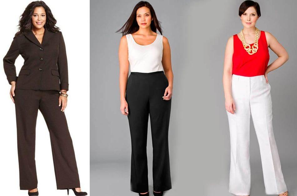 Какие брюки лучше всего подходят для женщин с широкими бедрами