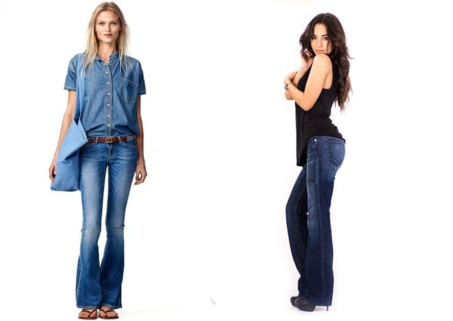 Какие модели джинс подходят женщинам после 40?