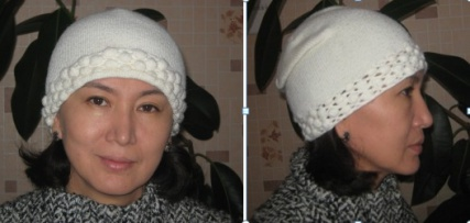 Вязаные шапки для взрослых женщин