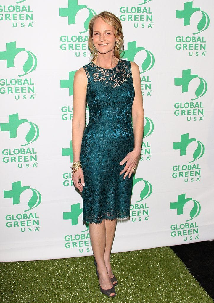 Helen-Hunt-went-green-dress