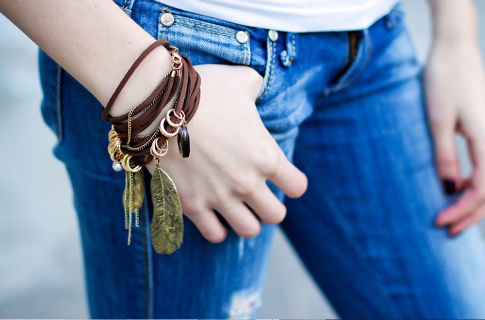 Молодежные браслеты на руку своими руками 396