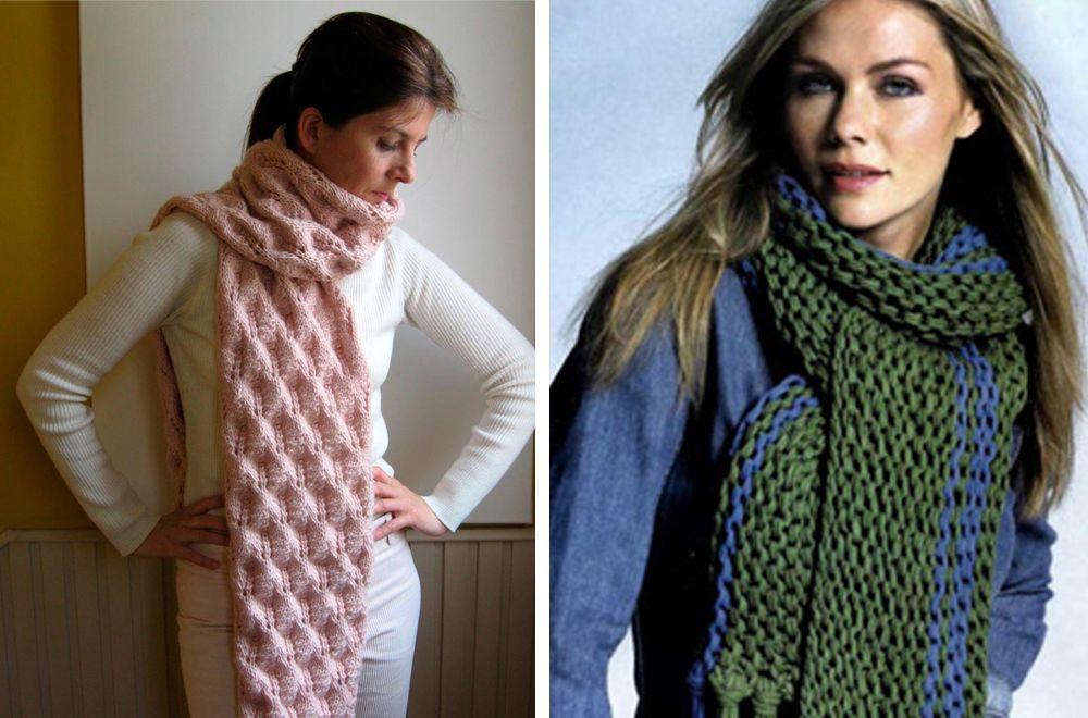 Длинный шарф