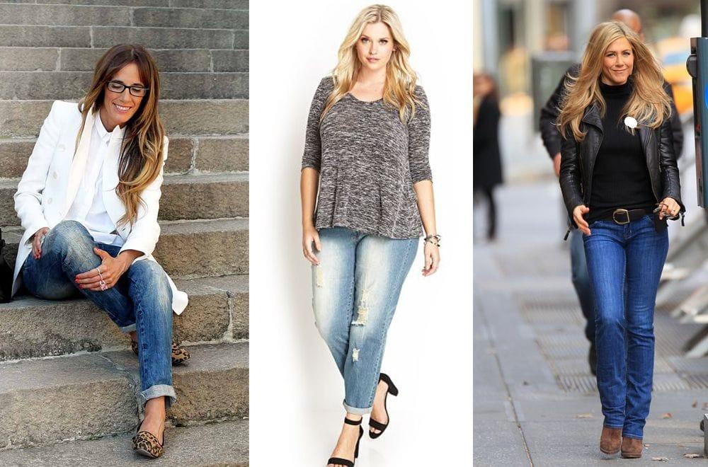 Как подобрать джинсы после сорока лет