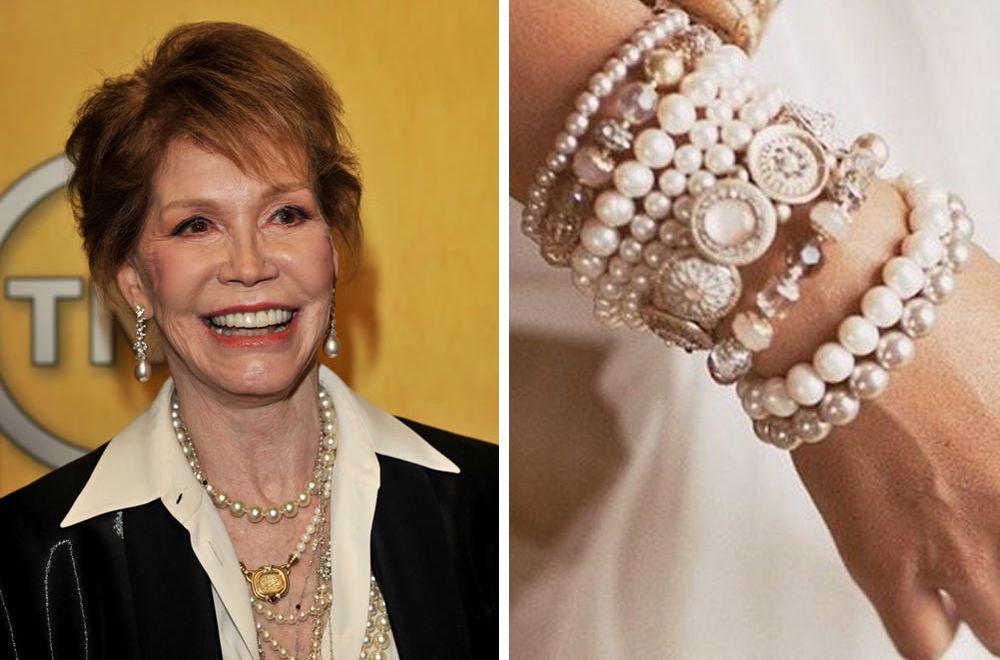 Браслеты и ожерелья для женщин старше 40