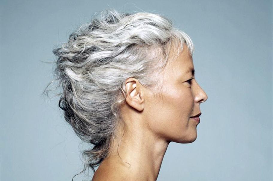 Как оживить седой волос