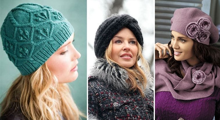 Женские шапки для женщин 50