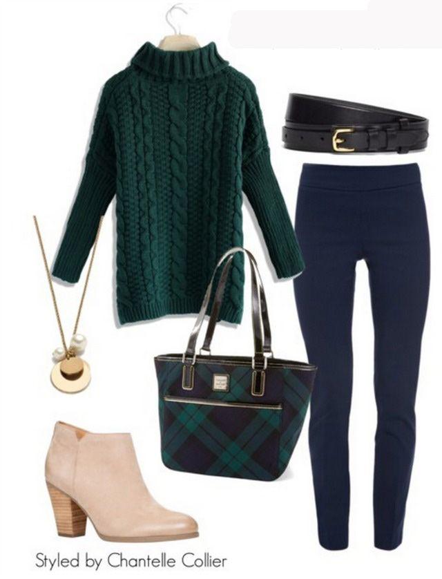 green-sweater