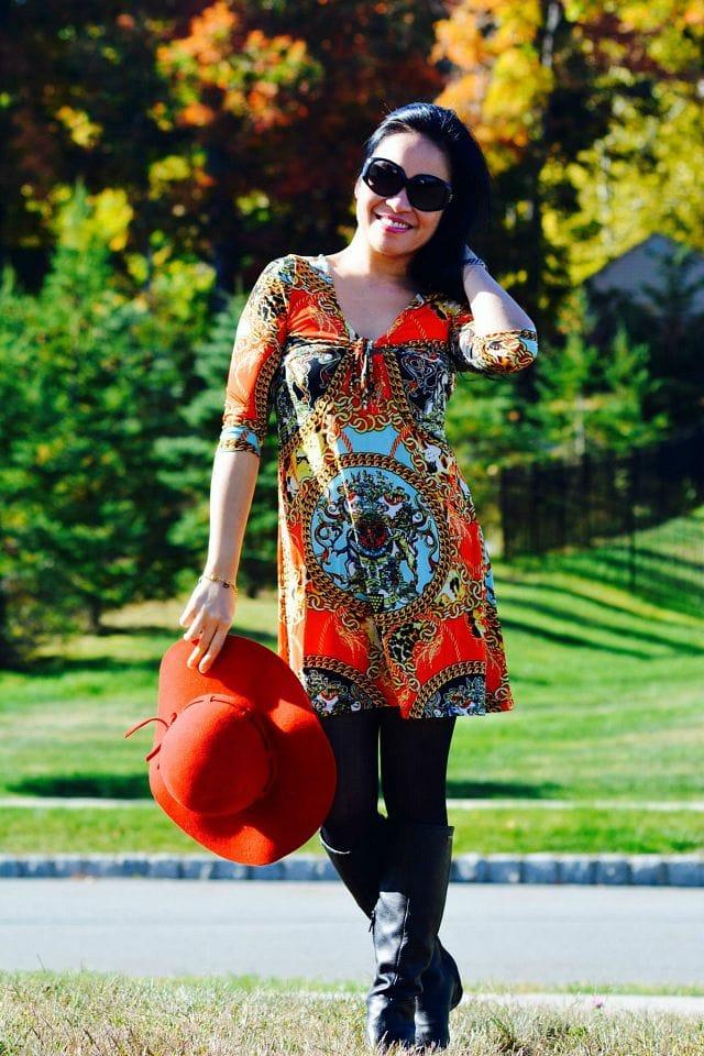 carina-graphic-print-dress