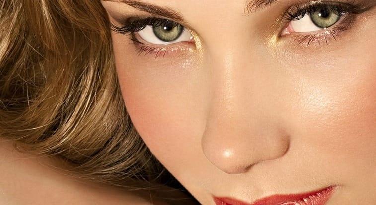 Цвет волос для зеленых глаз: правила выбора оттенков краски, теней