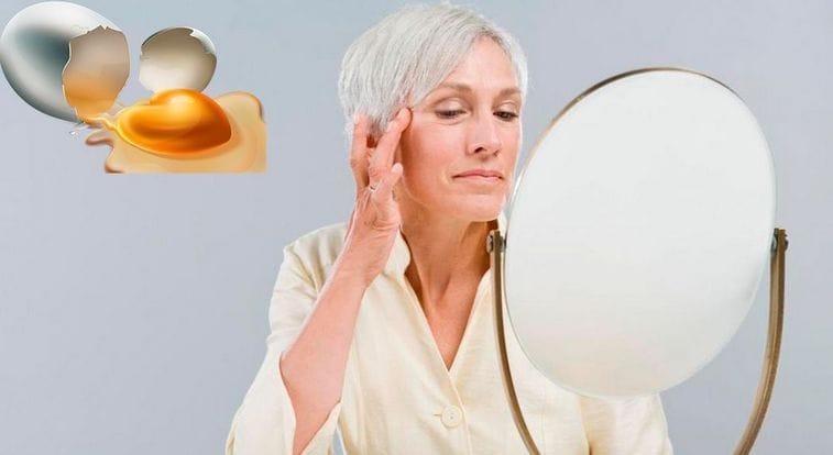 Яичная маска для лица от морщин в домашних условиях
