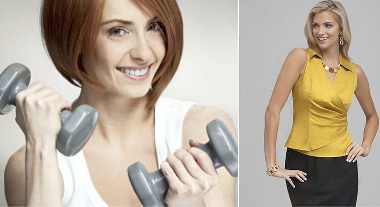 Упражнения для обвисших рук для женщин и мужчин: как убрать крылья и жир, подтянуть кожу и накачать мышцы с гантелями и без, нагрузка от дряблости