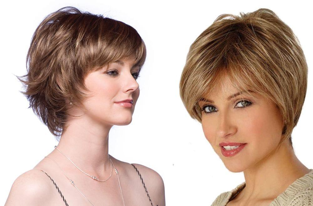 Стрижка женская шапочка на короткие волосы