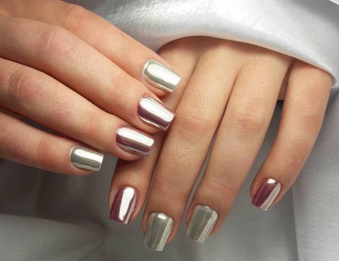 Втирка для ногтей Зеркальный блеск - главный тренд в маникюре