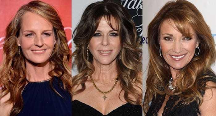 Прически на длинные волосы для женщин 50 лет фото 110