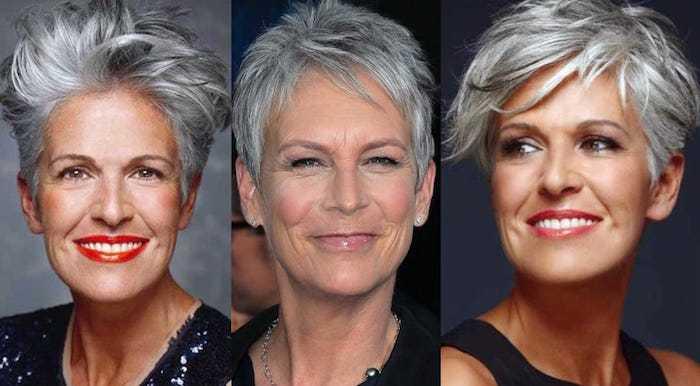 короткая стрижка для женщин после 50 лет