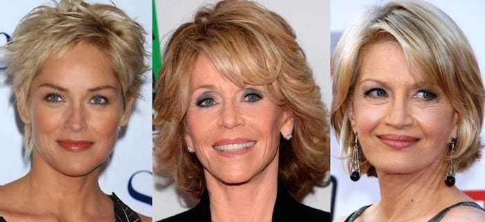 Выбор цвета волос после 50 лет
