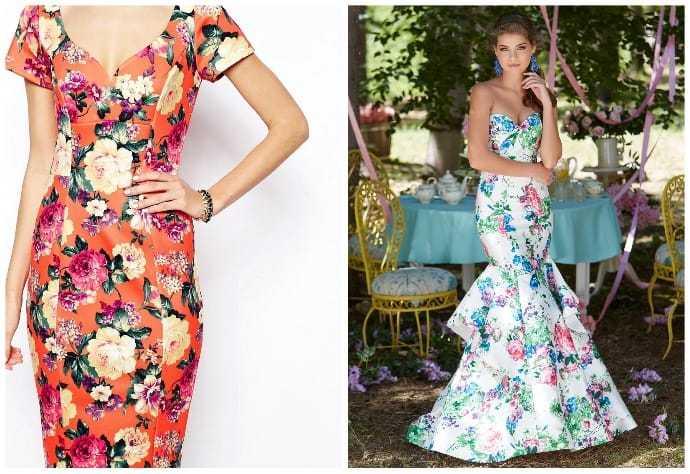 Платье футляр и платье русалка