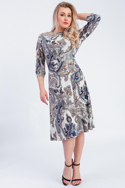 26f2b9949a2 Платье с цветочным принтом  универсальность